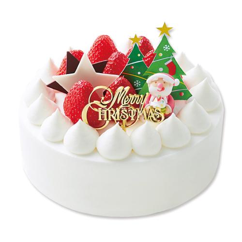 【モロゾフ】クリスマス ストロベリーショートケーキ