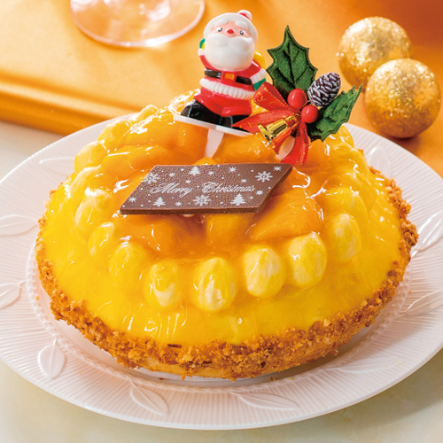 【風華美人】クリスマスマンゴー美人タルト