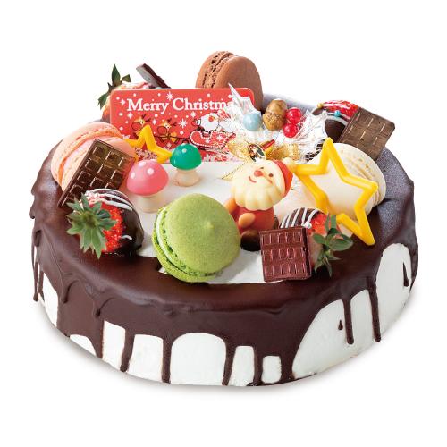 【ひなたまこっこ】とろ〜りチョコレートドリップケーキ